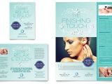 Nail Brochure Templates Free Nail Technician Flyer Ad Template Word Publisher