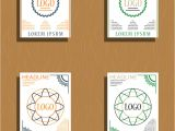 Name Card Vector Free Download Sets Of Modern Light Business Card Template for