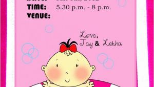 Naming Ceremony Invitation Blank Card Pin by Rekha Dhariwal On Naming Ceremony Invitation with