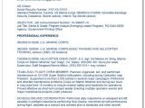 Navy Basic Training Resume Writing Your First Basic Military to Federal Resume the