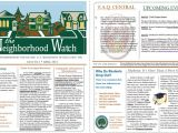 Neighborhood Newsletter Template 13 Free Newsletter Templates You Can Print or Email as Pdf