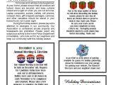Neighborhood Newsletter Template December 2012 northwood Ii Nwii Hoa Community