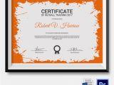 Netball Certificate Templates 5 Netball Certificates Psd Word Designs Design
