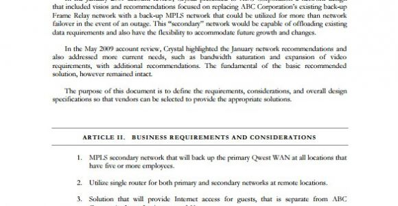 Network Design Proposal Template Design Proposal Templates 18 Free Sample Example