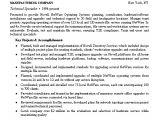 Network Engineer Resume Bullets Network Engineer Resume Example