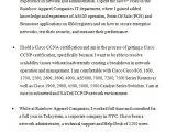 Network Engineer Resume Bullets Network Engineer Resume Example Resume Template