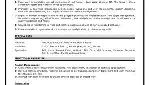Network Engineer Resume Examples Sample Network Engineer Resume