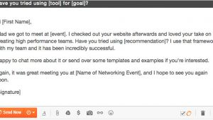 Networking Follow Up Email Template 12 Networking Follow Up Emails Breathr Medium