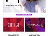 New Arrivals Email Template 11 Welcome Email Template Examples that Grow Sales From Day 1