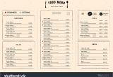 New Modern Cafe Menu Card Modular Food Menu Layout Google Search Menu Layout