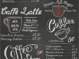 New Modern Cafe Menu Card Portfolia Rasch Vintage Retro Coffe Shop Cafe Schwarz Weia E Kreide Tapete 234602