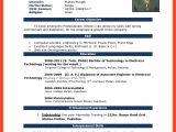 New Resume format In Word Latest Resume Sample Good Resume format