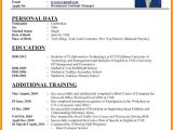 New Resume format Word File 7 Curriculum Vitae Download Word theorynpractice