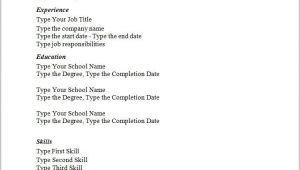 New Simple Resume format Simple Sample Resume Templates Simple Resume Template