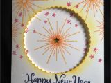 New Year Card Making Handmade Stampin Up S It S A Celebration Stamp Set From the 2016