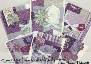 New Year Greeting Card Handmade August Creative Card Kit Christmas Jewel Cards Xmas
