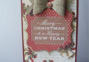New Year Greeting Card Handmade Craftwork Cards Magic Of Christmas Craftwork Cards