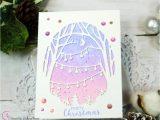 New Year Greeting Card Handmade Hero Arts November 2019 My Monthly Hero In 2020 Christmas
