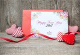 New Year Greeting Card Making Free New Year Greeting Card Mock Up Psd Template Design
