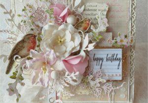 New Year Greetings Card Design Handmade Shabby Chic Happy Birthday Card Scrapbook Com Shabby