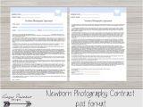 Newborn Photography Contract Template Newborn Photography Contract Model Release Newborn Session