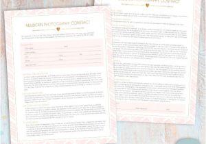 Newborn Photography Contract Template Newborn Photography Contract Template Photoshop Download