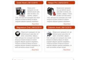 Newsletter Outline Template Best Free Email Newsletter Design Templates Latest