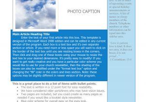 Newsletter Outline Template Word Newsletter Template Free Portablegasgrillweber Com