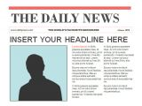 Newspaper Header Template 14 Powerpoint Newspaper Templates Free Sample Example