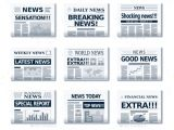 Newspaper Header Template 15 Newspaper Headline Templates Free Sample Example