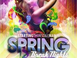 Next Day Flyers Templates Free Club Flyer Templates for Spring Break Photoshop Psd