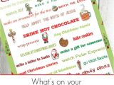 Nice Things to Say In A Christmas Card Christmas Bucket List for the whole Family Christmas