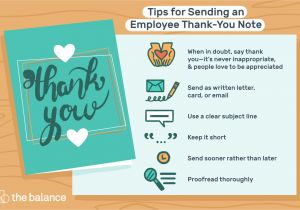 Nice Things to Say In A Thank You Card Employee Thank You Letter Examples
