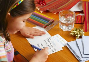Nice Things to Say In A Thank You Card Getting Your Child to Write Thank You Notes