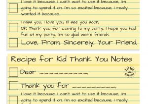 Nice Things to Say In A Thank You Card How to Write the Most thoughtful Kid Thank You Notes
