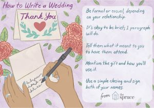 Nice Things to Say In A Thank You Card Wedding Thank You Note Wording Examples