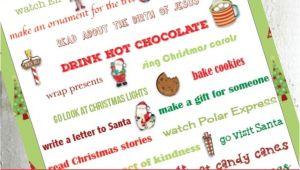 Nice Things to Write In A Christmas Card Christmas Bucket List for the whole Family Christmas