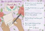 Nice Things to Write In A Thank You Card Wedding Thank You Note Wording Examples