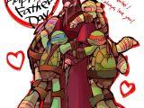Ninja Turtles Happy Birthday Card Fathers Day by Puwapuna Deviantart Com On Deviantart Tmnt