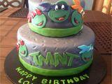 Ninja Turtles Happy Birthday Card Ninja Turtle Cake with Images Ninja Turtle Birthday