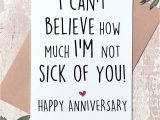 No Anniversary Card From Husband Excited to Share This Item From My Etsy Shop Funny