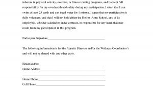 No Liability Contract Template Liability Insurance Liability Insurance Waiver Template