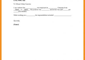 No Longer with the Company Email Template No Longer Employed Letter Sample Apparel Dream Inc