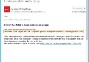 No Longer with the Company Email Template No Longer with the Company Auto Reply Template Template