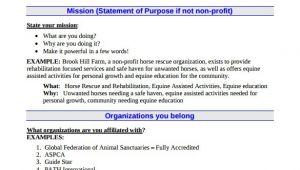 Non Profit Business Plan Template 21 Non Profit Business Plan Templates Pdf Doc Free
