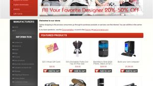 Nop Commerce Templates Free Templates for Nopcommerce