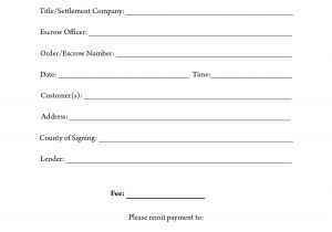 Notary Receipt Template 11 Best Images Of Notary Sample Flyers Agent Notary