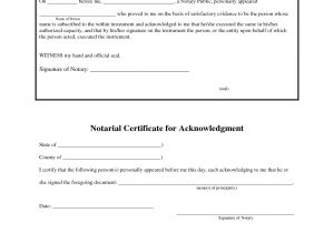 Notary Receipt Template 12 Best Photos Of Jurat form 2012 Florida Notary