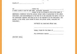 Notary Receipt Template 7 8 Notary Public Sample form Samplenotary Com