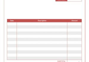 Notary Receipt Template Notary Invoice Template